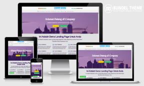 Company Landing Blogspot Template