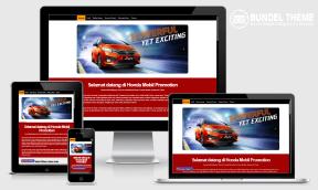 Landing Page Sales Mobil