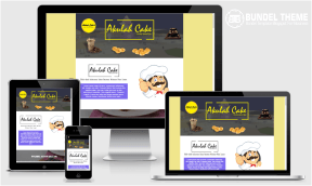 Cakes Landing Page Blogspot