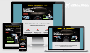 Rental Car Landing Page Blogspot