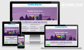 WortelTheme Landing Page Blogspot