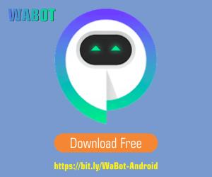WABOT aplikasi Android yang membantu para pebisnis dan pemasar