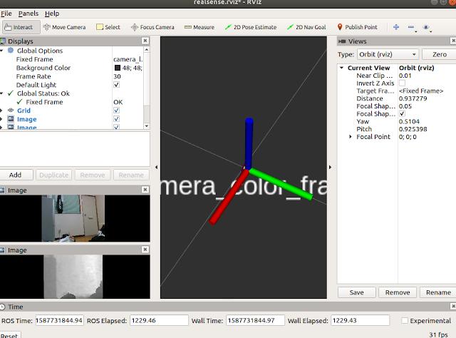 ORB SLAM2 实践 (二)使用Realsense 相机运行ORB  SLAM