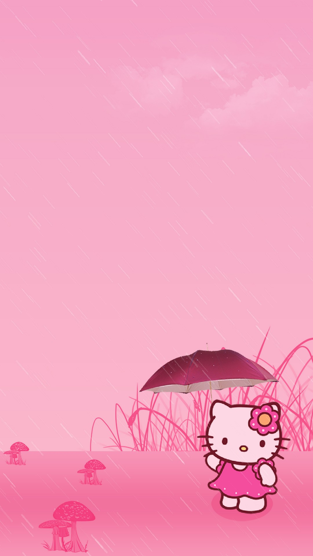 Wallpaper Hello Kitty Lock Screen