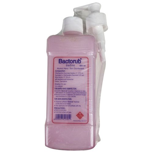 Bactorub Alcohol Hand And Skin Disinfectant Size 500 Ml Id
