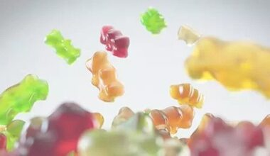 Cannabis Infused Gummies Background