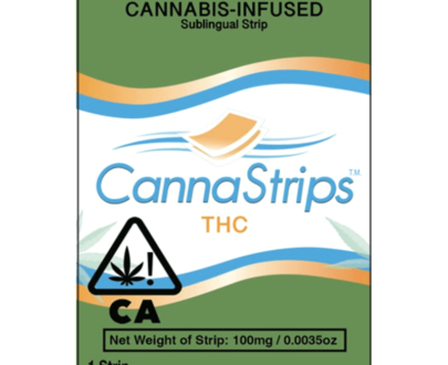 CannaStrips - CBD and THC Sublingual Strips