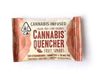 Cannabis Quencher - Marijuana Infused Fruit Sparks