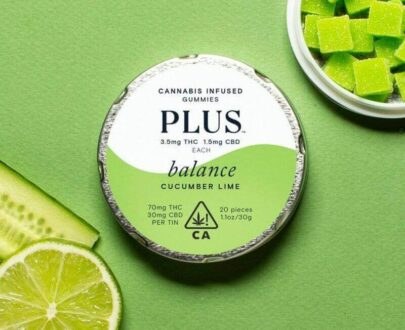 Los balance cucumber lime THC infused gummy's