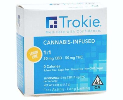 Trokie CBD and THC lozenges