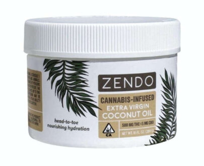 Zendo Cannabis infused coconut oil topical