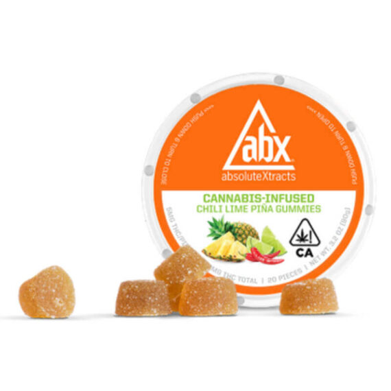 Absolute extracts chili lime piña gummy's