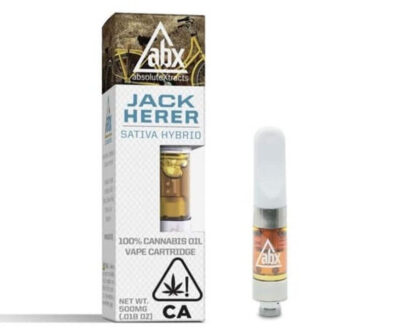 Absolute extracts Jak premium cannabis coil cartridge .5 g