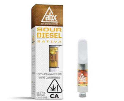 Absolute extracts sour diesel premium cannabis oil cartridge .5 g