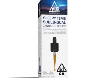 Absolute extracts sleep aid cannabis tincture