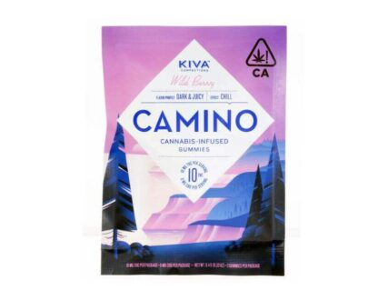 Cannabis-infused Wild Berry gummies by Camino