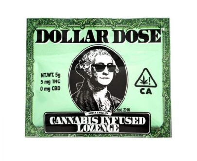Dollar Dose Lozenges available at marijuana dispensaries in Ojai, CA