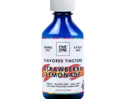 Five Star Cannabis Infused Strawberry Lemonade Tincture