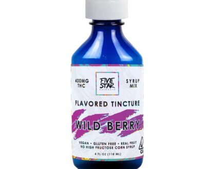 Five Star Cannabis Infused Wild Berry Tincture
