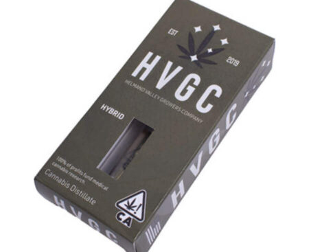 HGVC- Disposable cannabis oil vape cartridge