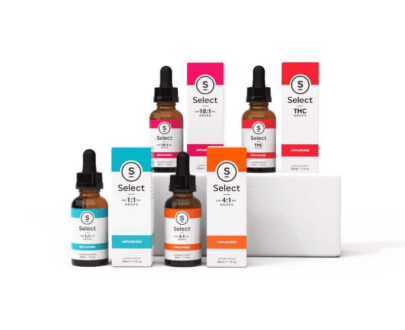Select CBD and THC tincture