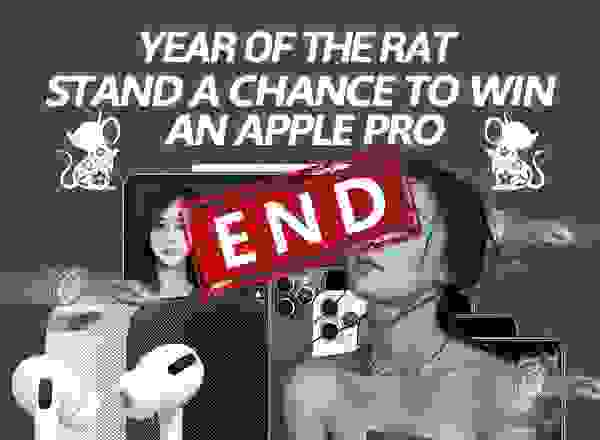 YEAR OF THE RAT Stand a Chance to WIN an Apple Pro