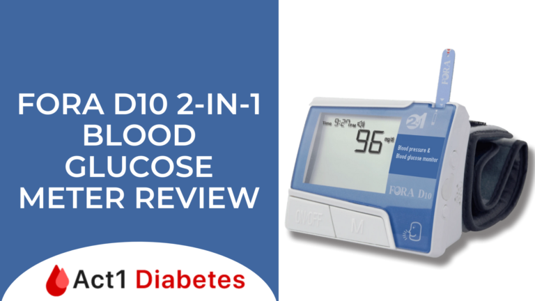 Fora D10 2-IN-1 Blood Glucose Meter Review