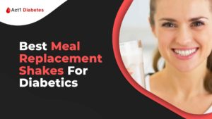 Best Meal Replacement Shakes For Diabetics banner