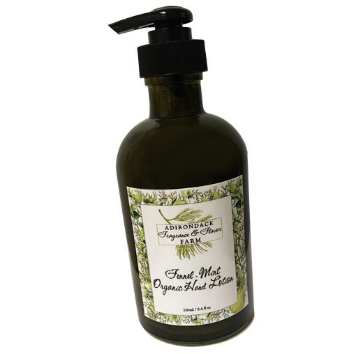 Fennel Mint Hand Lotion from ADK Fragrance Farm
