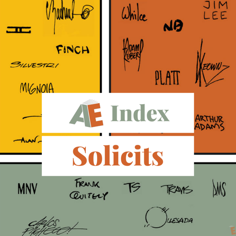 AE featured solicits