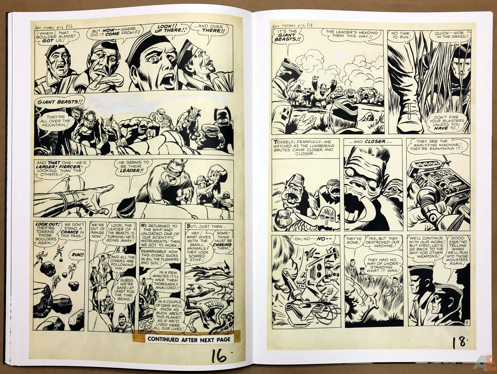 Jack Kirby's Marvel Heroes and Monsters Artist's Edition