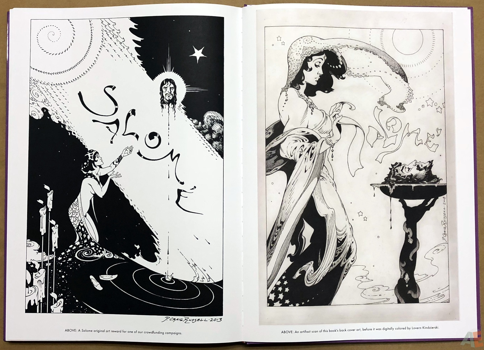 P. Craig Russell's Salome and Other Stories Fine Art Edition