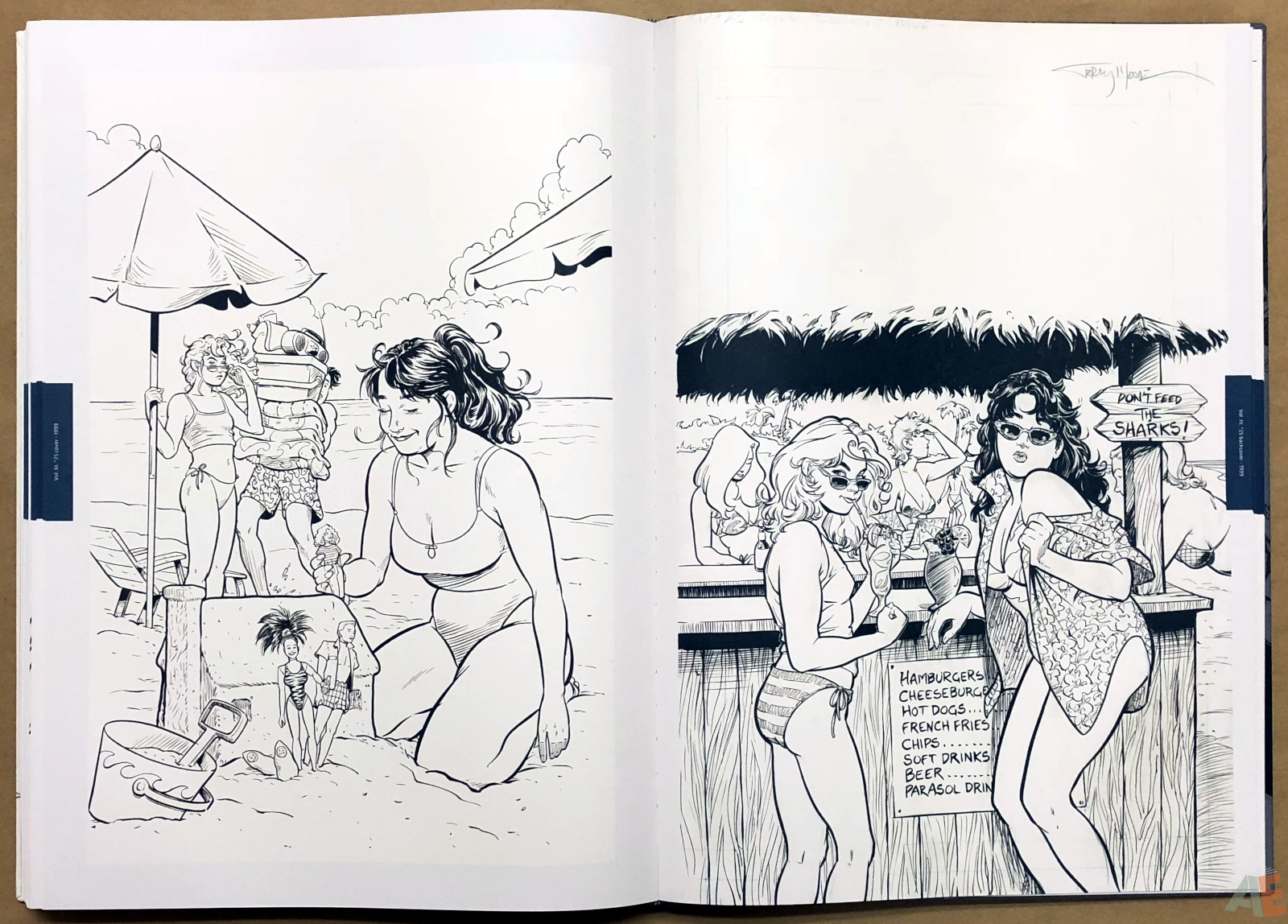 Terry Moore Strangers In Paradise Gallery Edition