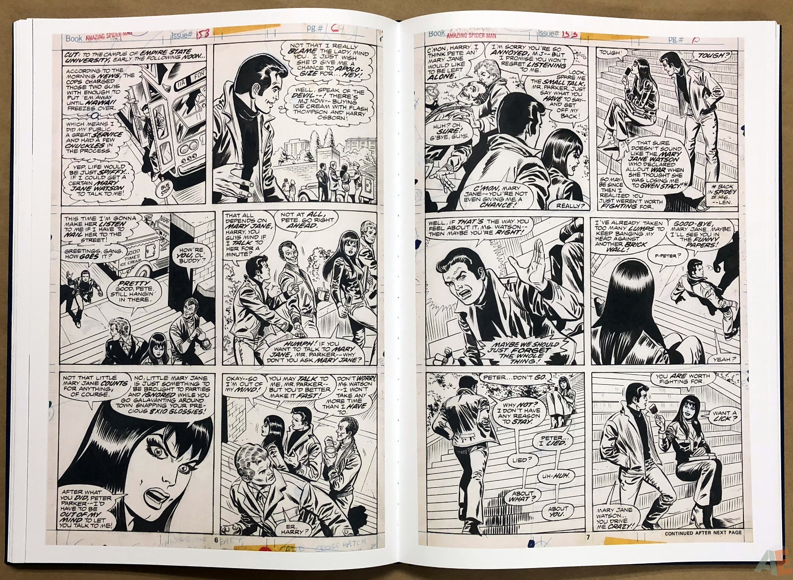 Ross Andru's The Amazing Spider-Man Artist's Edition