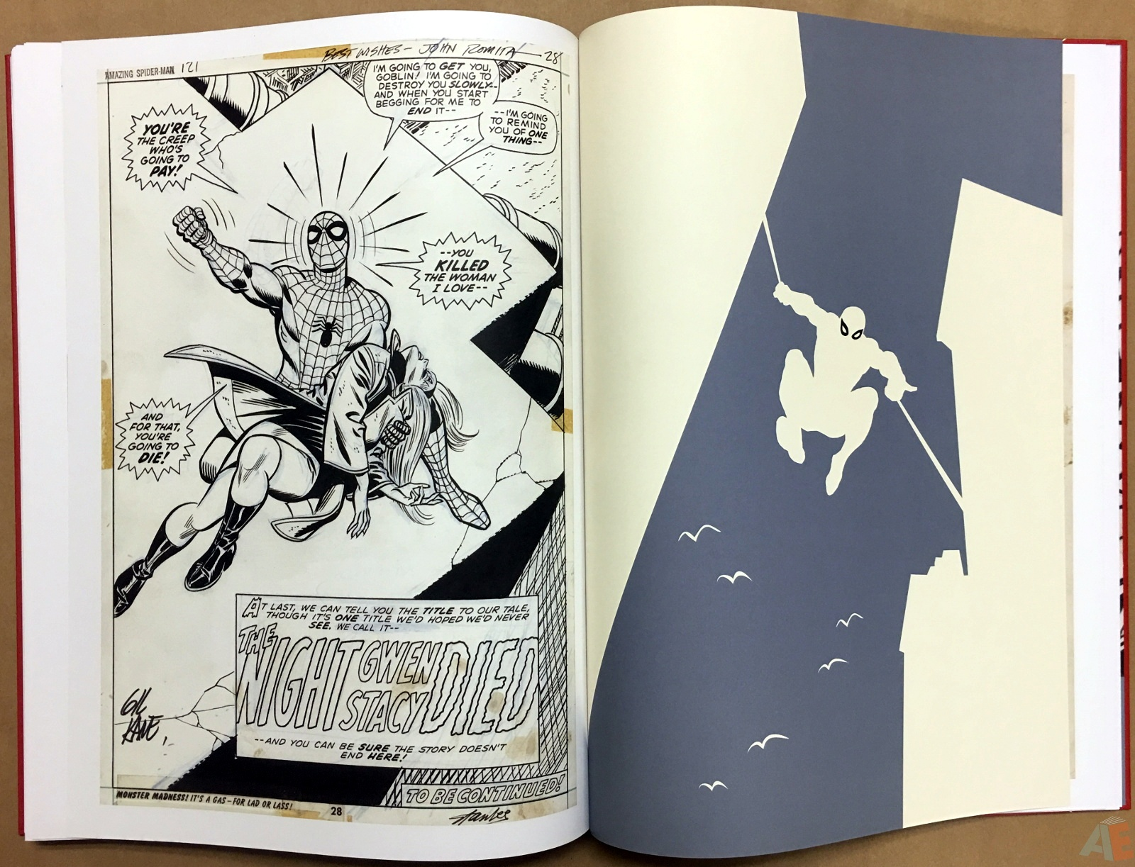 Gil Kane's The Amazing Spider-Man Artist's Edition