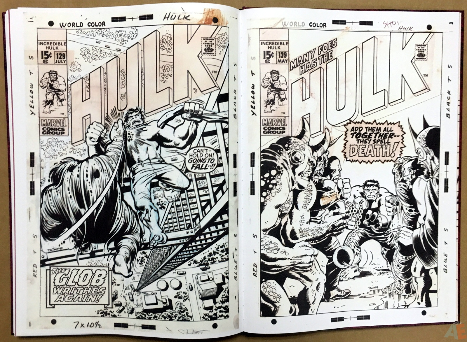 Herb Trimpe's The Incredible Hulk Artist's Edition