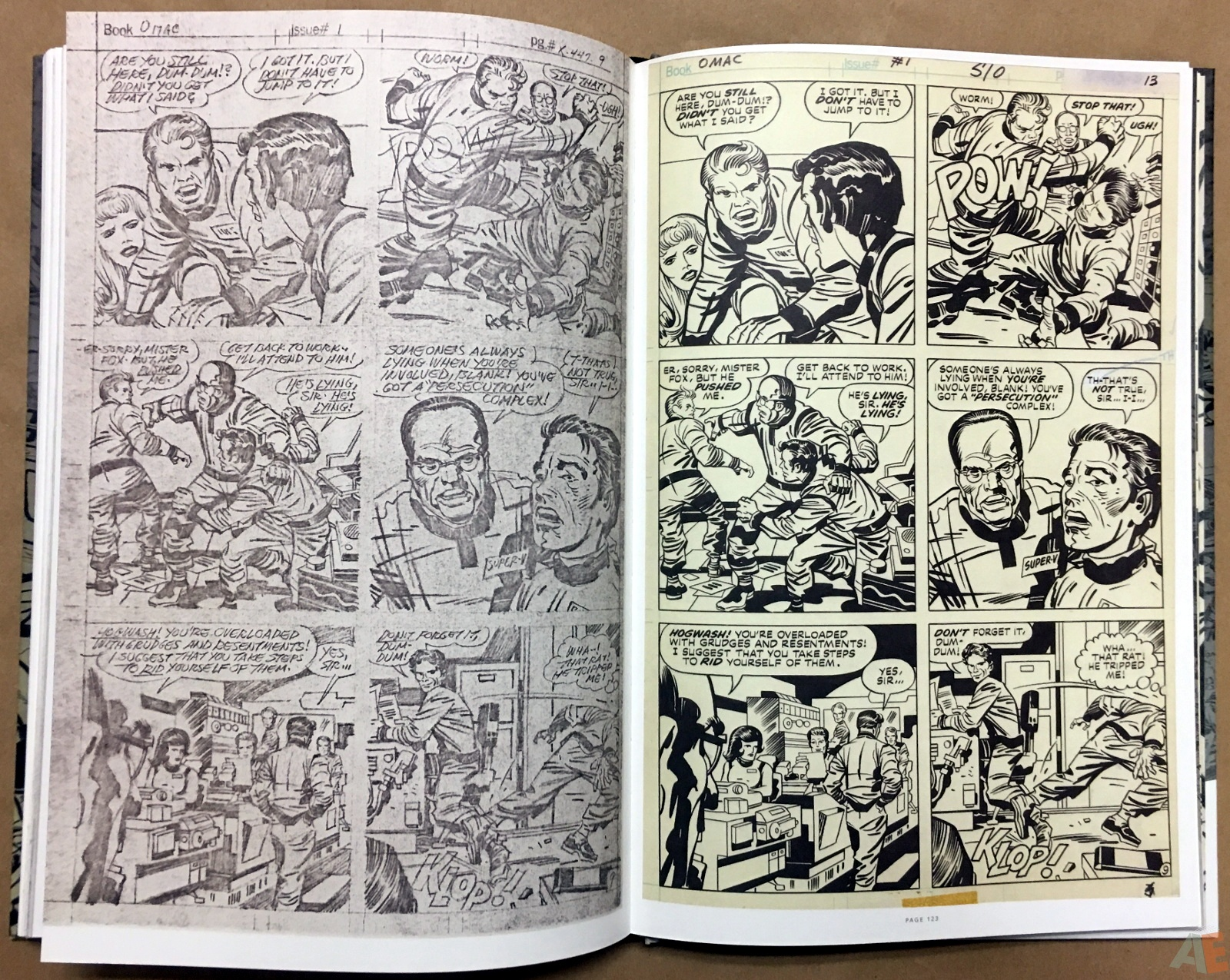 Jack Kirby Pencils And Inks Artisan Edition