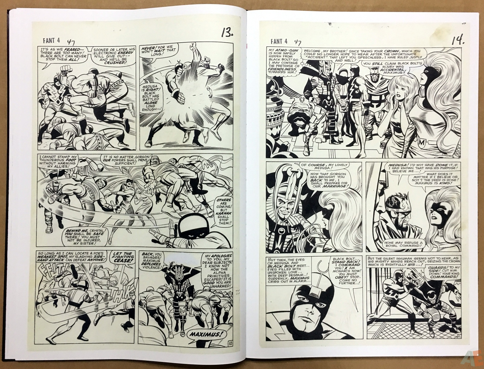 Jack Kirby's Fantastic Four The World's Greatest Artist's Edition