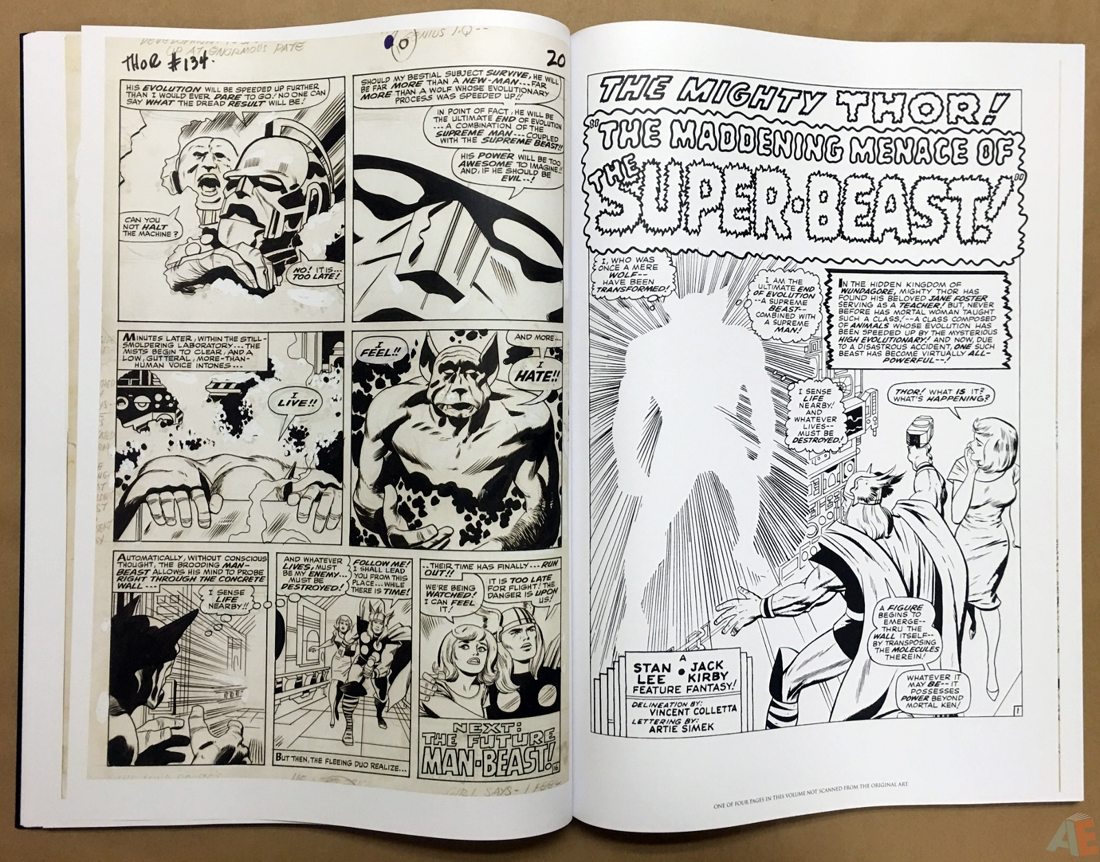 Jack Kirby's The Mighty Thor Artist's Edition