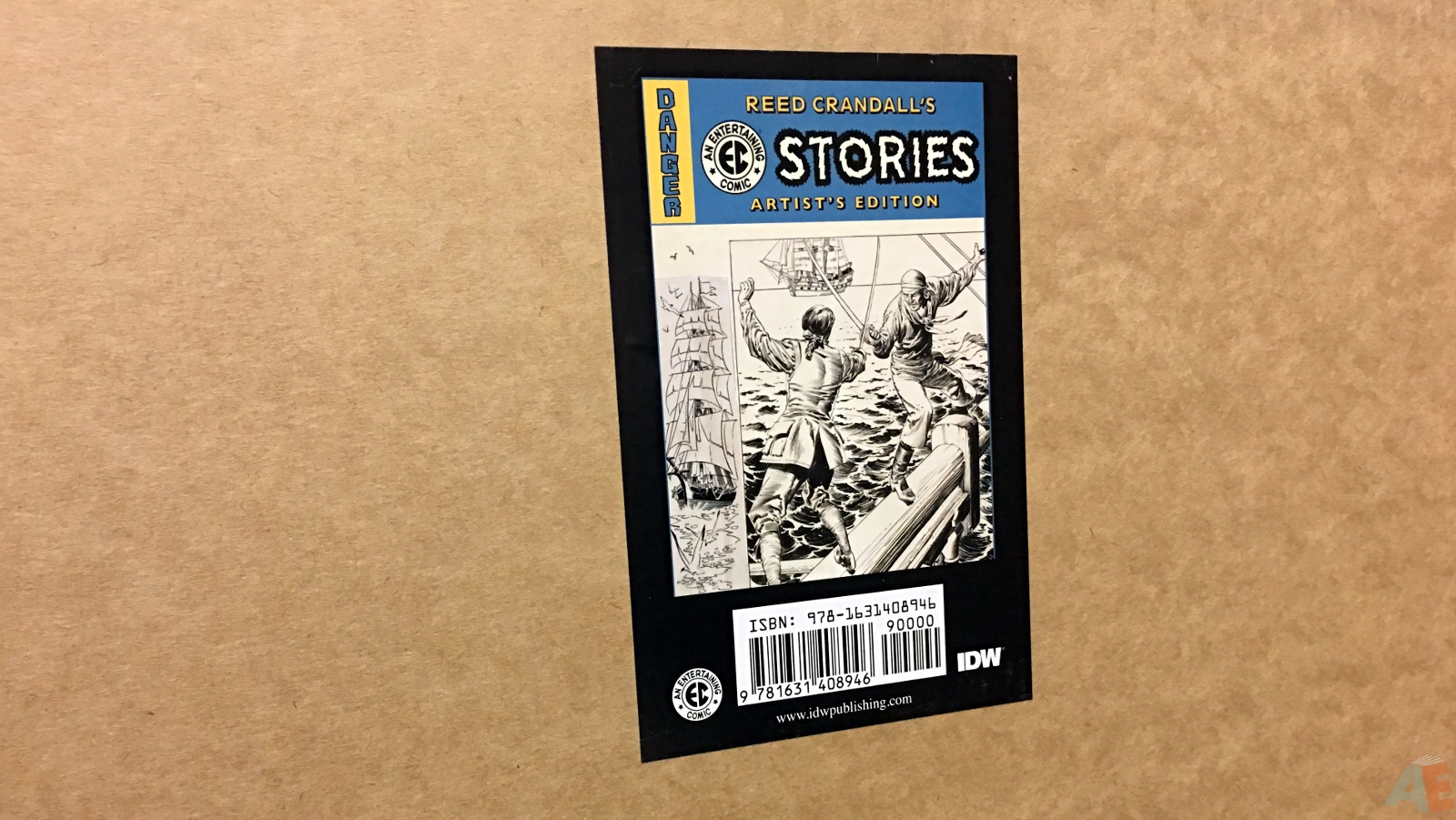 Reed Crandall's EC Stories Artist's Edition