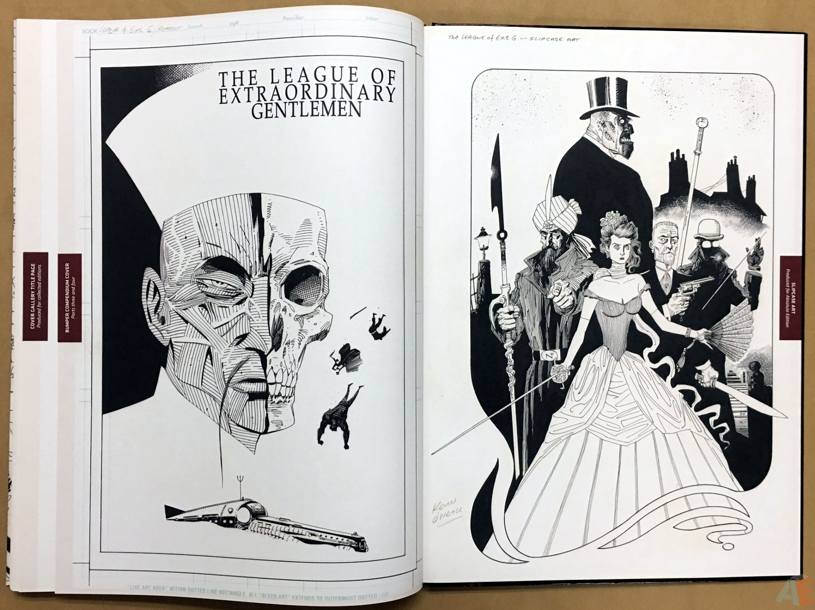The League Of Extraordinary Gentlemen: Kevin O'Neill Gallery Edition