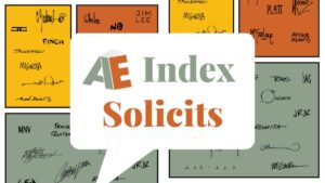 AE Index Solicits Featured