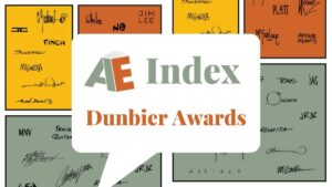 AE Index Dunbier Awards Featured