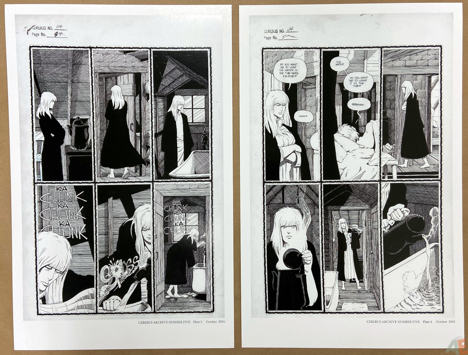 Cerebus Archive Number Five