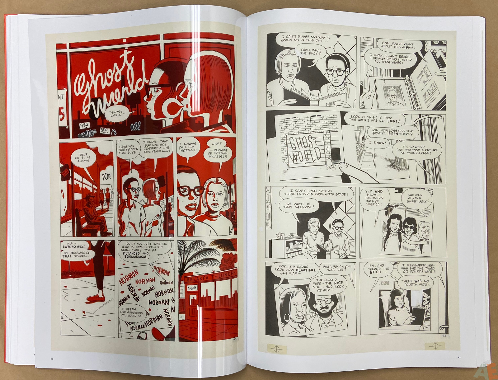 Original Art Daniel Clowes Studio Edition interior 10