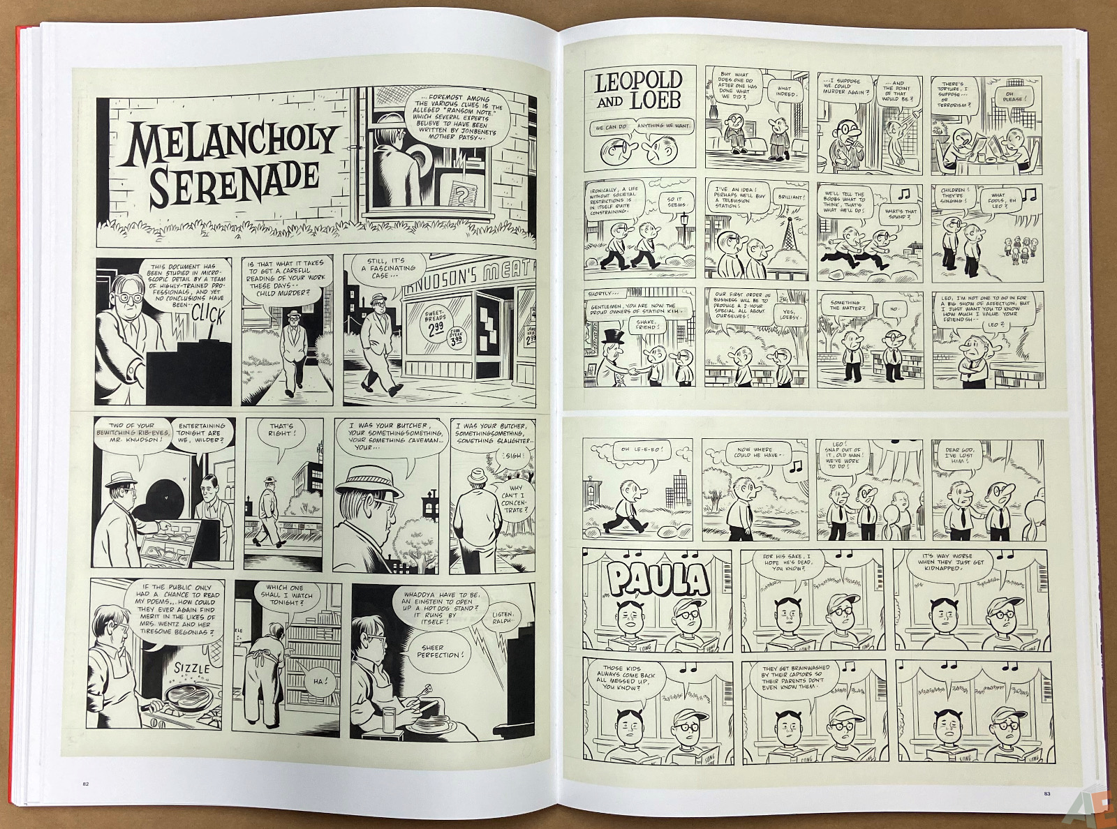 Original Art Daniel Clowes Studio Edition interior 14