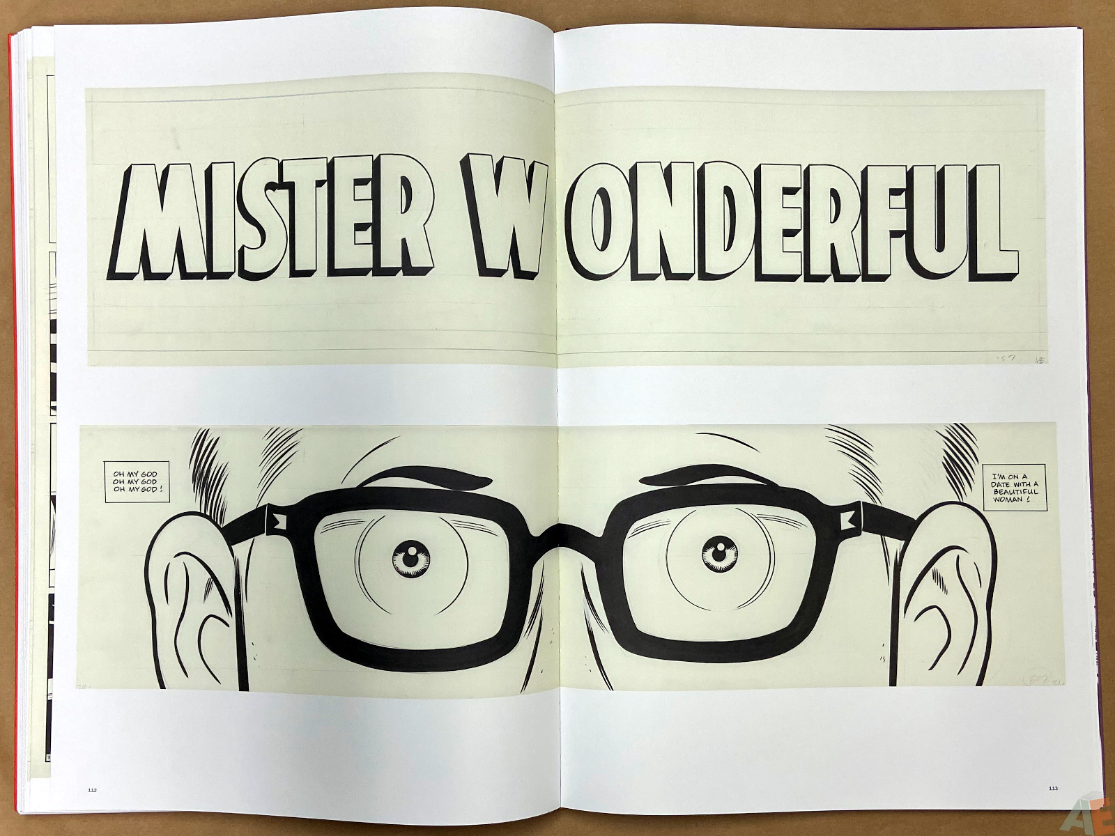 Original Art Daniel Clowes Studio Edition interior 18