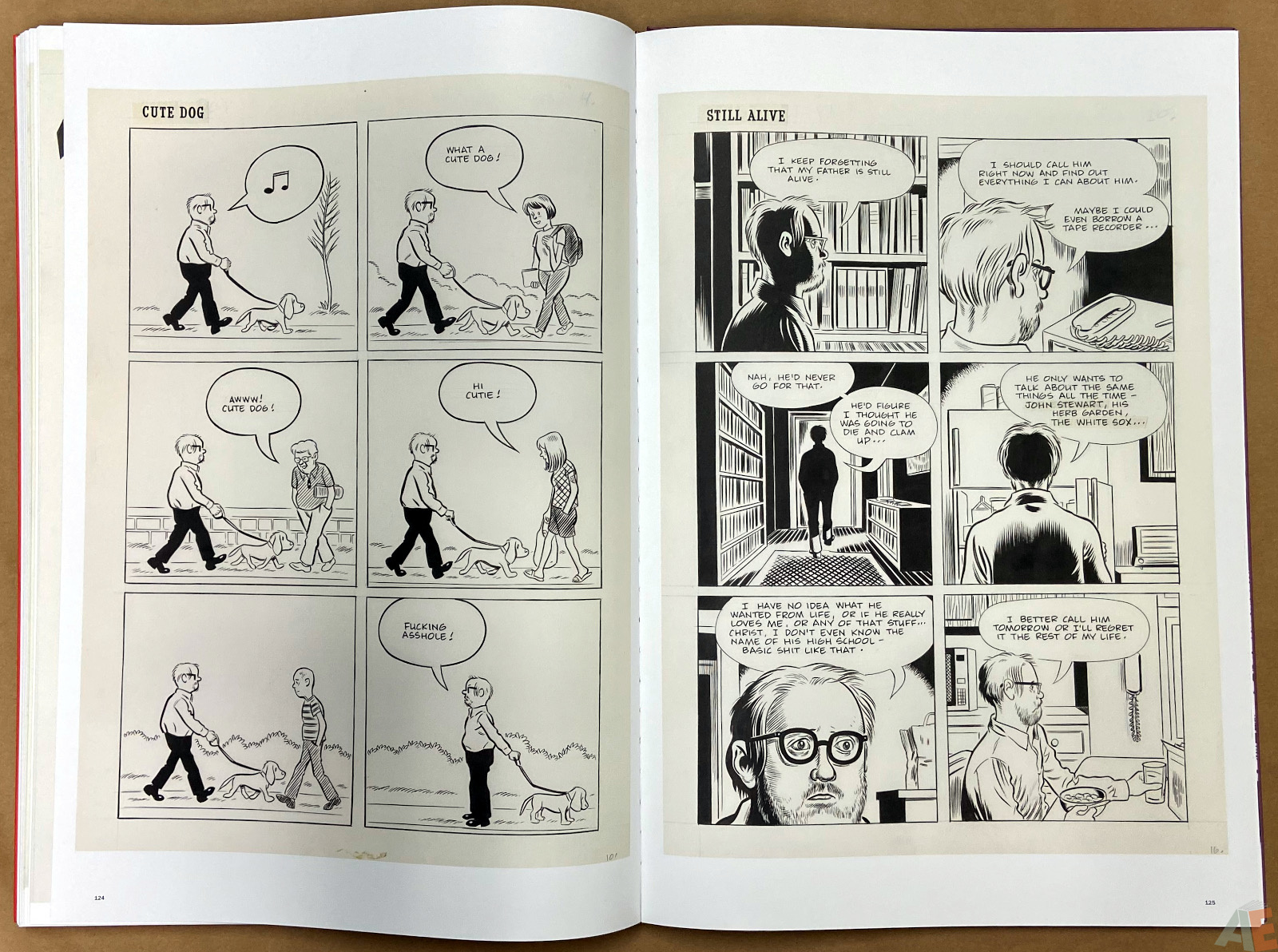 Original Art Daniel Clowes Studio Edition interior 20