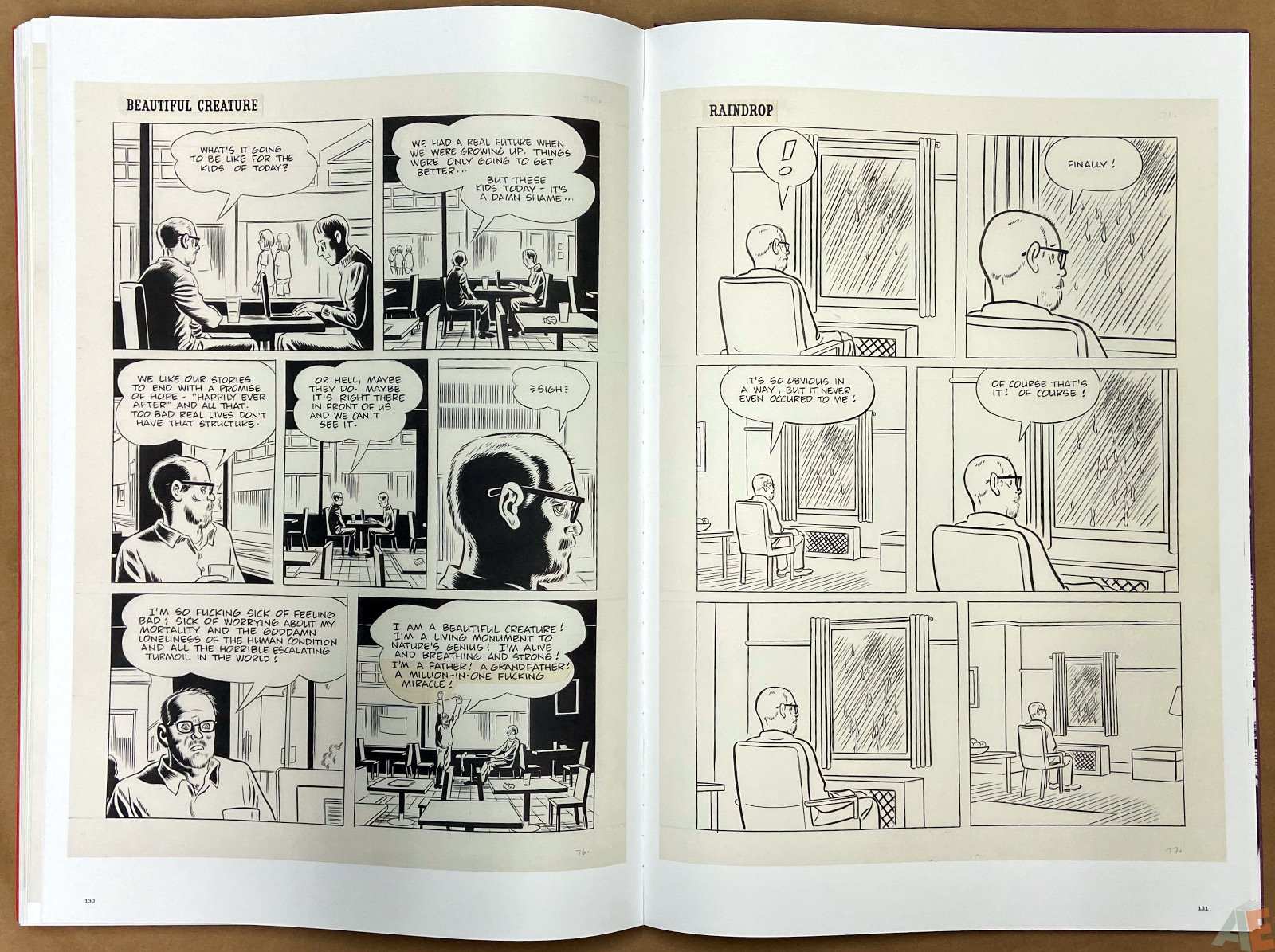 Original Art Daniel Clowes Studio Edition interior 21
