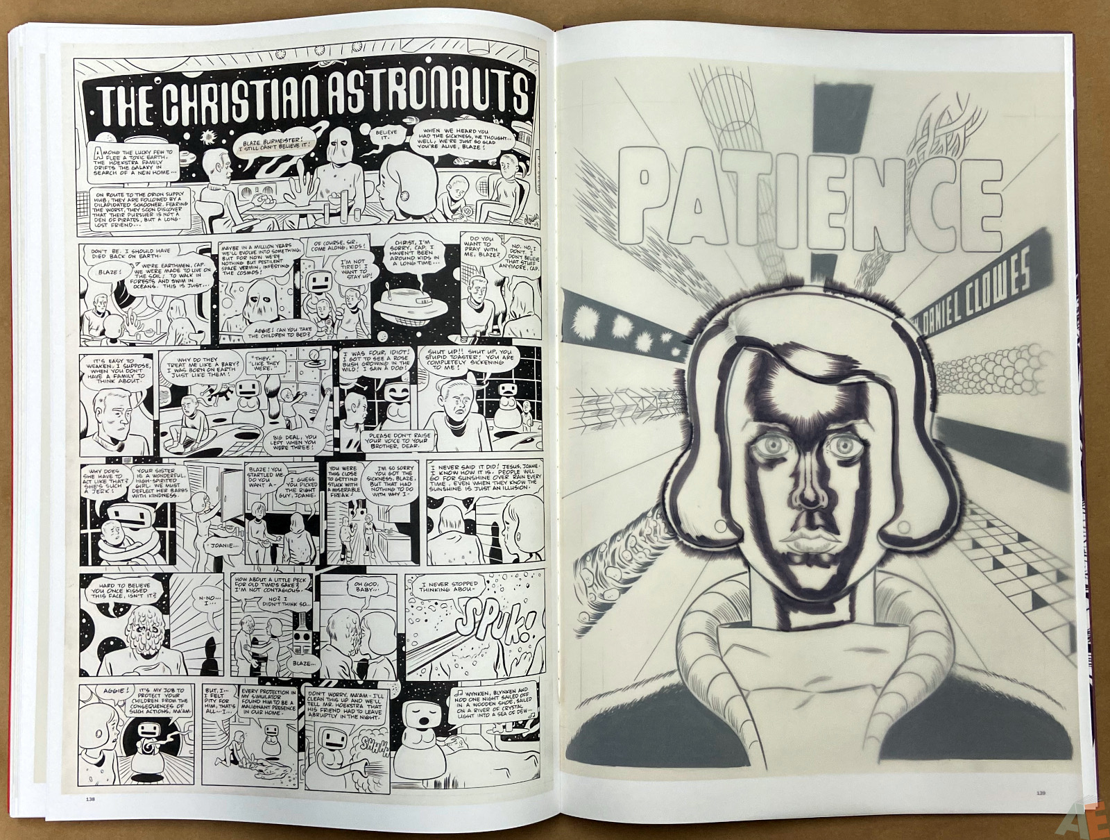 Original Art Daniel Clowes Studio Edition interior 22